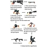 VR Game Shooting Gun Double Handle Bracket