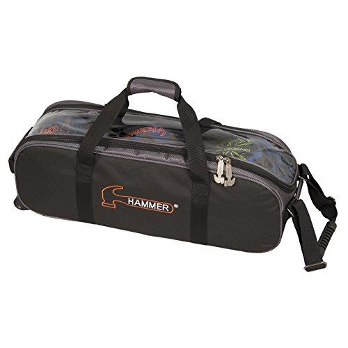 Hammer Premium Triple Tote Bowling Bag, - Bag Bowling Ball 3 Hammer