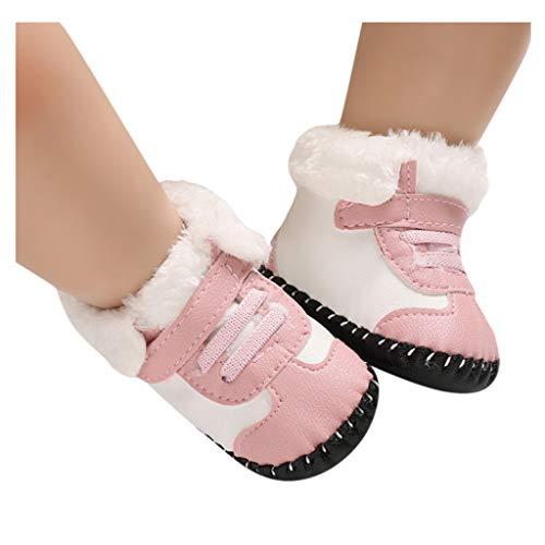Zapatos para Bebés y Niños PU de Fondo Suave de Alta Felpa ...