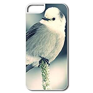 Customize Anti Slip White Little Bird For Iphone 5s Screen Protector