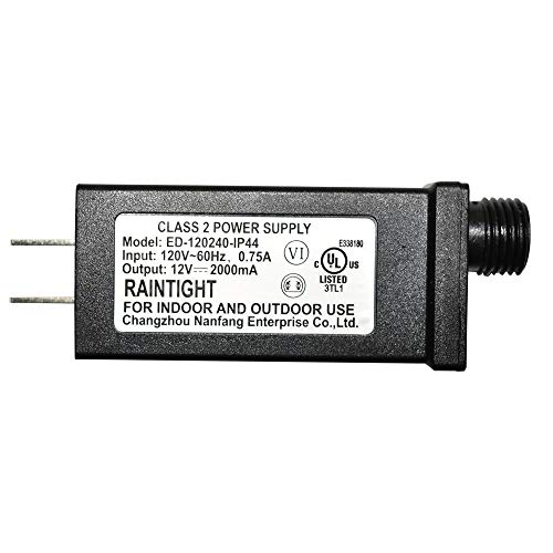 Replacement Yard Inflatable Adapter Power Supply Adaptor 12Vdc 0.75A 2000mA 2.0Amp 2A UL Listed for Home Lawn Yard Garden Holiday Inflatable Decorations from Nanfeng