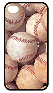 Back Case-Cool Baseball Theme Apple iPhone 4,iPhone 4s Cases