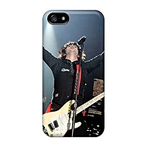 AaronBlanchette Iphone 5/5s Protective Cell-phone Hard Covers Allow Personal Design Realistic Green Day Band Pattern [quy1865xZDE]