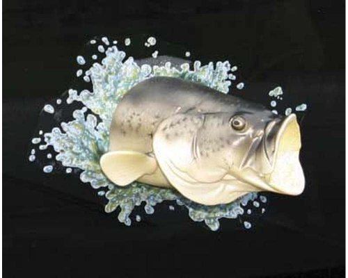 T-shirt Fish Fishing Bass - 10028, Rivers Edge Products
