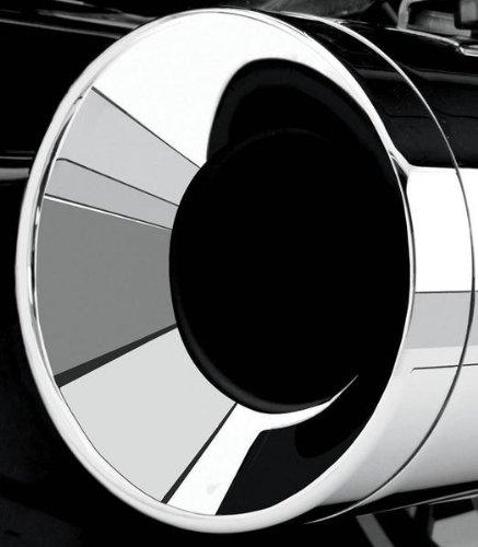 Cobra 4in. Billet Exhaust Tip - Straight (Straight Billet End Cap)