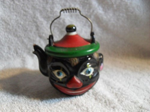 (Black Americana Man Pepper Shaker JAPAN)