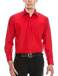 Mens Red Dress Shirt - Dress Xy