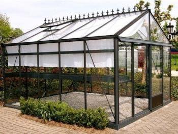 Idea invernaderos, miniserre tulipán, invernadero, invernadero de jardín, invernadero de orto, invernaderos Agricole, tamaños color 2,36 X x2,36 X 1,81 – 2,36h: Amazon.es: Hogar
