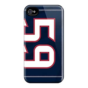 First-class Cases Covers For Iphone 4/4s Dual Protection Covers Houston Texans