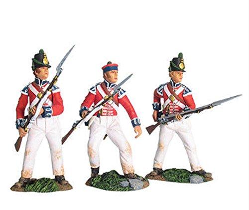 Britains Napoleonic 17701, British Coldstream Guards Light Co. Defending #1 ()
