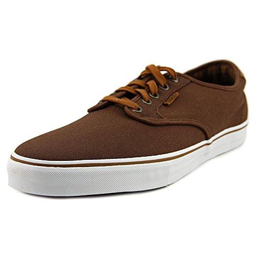 Vans Chima Ferguson Pro Plaid Potting Soil Mens Sneakers Brown