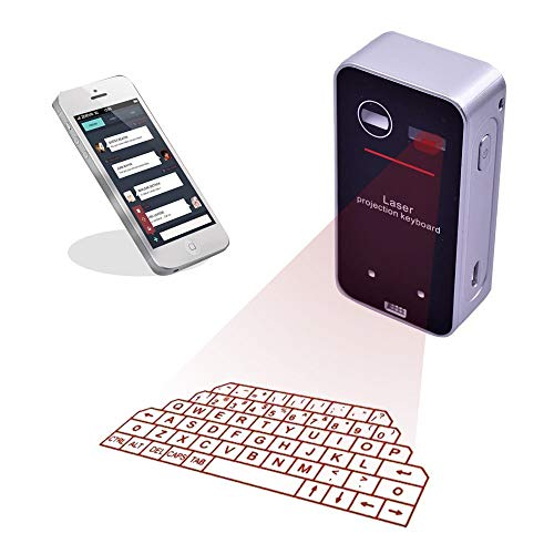 Wireless Laser Projection Virtual Keyboard Portable