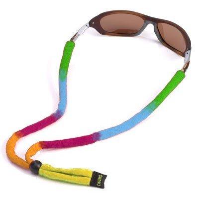 (Chums Original Cotton Standard End Eyewear Retainer, Rainbow)