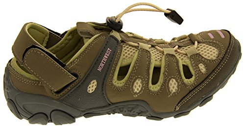 Sandali Donna E Toggle Studio Fissaggio Rosa Northwest Camminare Territory Atlanta Footwear Beige OqABF4wY
