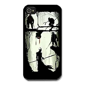 The best gift for Halloween and ChristmasiPhone 4 4s Cell Phone Case Black Teenage Mutant Ninja Turtles RPR4994865
