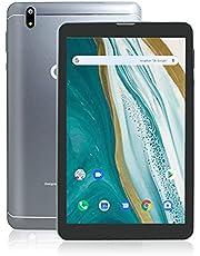 Tablet 8 Inch LTE + WIFI 3GB RAM 32GB ROM Android 10 Tablets Octa Core 2.0 GHz, 1920 x 1200 FHD IPS, Dual SIM | 128GB uitbreidbaar | WI-FI | Bluetooth | GPS | 5.0 + 8.0 MP Camera, Grey