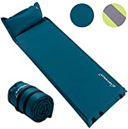 Self Inflating Sleeping Pad for Camping - 1.5/2/3 inch Camping Pad, Lightweight Inflatable Camping Mattress Pa