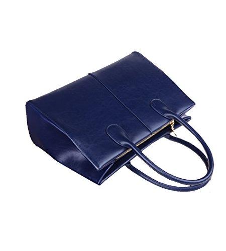 SUXCGE, Borsa a spalla donna Taglia unica Navy blue 8711