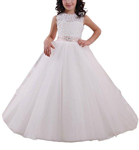 d0841d7765 Helen Lace Flower Girls Gown First Communion Dress 072 - Buy Online in  Lebanon.