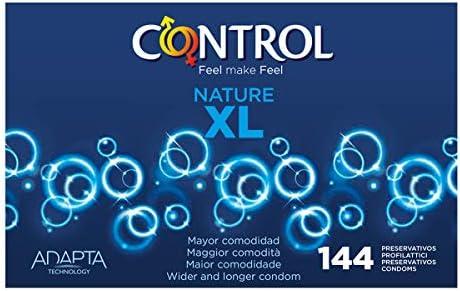 Control Nature XL Preservativos - Caja de condones con 144 ...