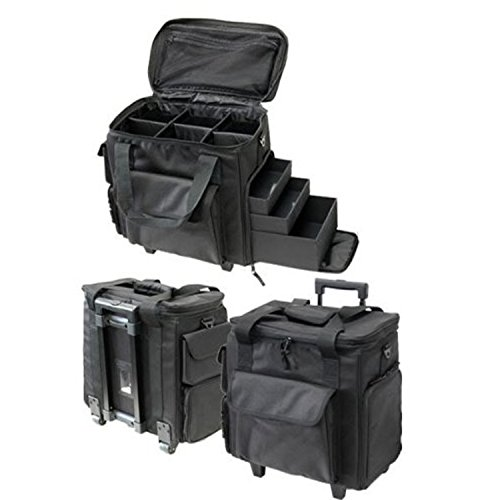 T.Z. Case Soft-Side Wheeled Organizer Case, 9.5