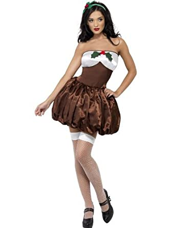 Christmas Pudding Outfit.Deluxe Saucy Christmas Pudding Outfit