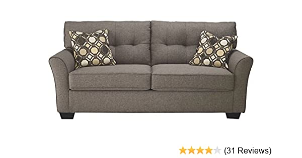 Amazon.com: Ashley Furniture Signature Design   Tibbee Full Sofa Sleeper    Sleek Tailored Couch With Pull Out   Slate: Kitchen U0026 Dining