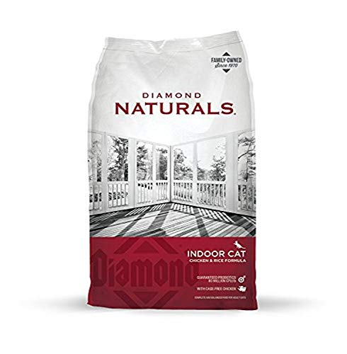 Diamond Naturals High Protein Premium Formulas Dry Cat Food with Superfoods and Antioxidants