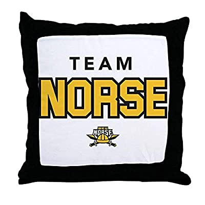 FiuFgyt Northern Kentucky NKU Norse Team Throw Pillows Couch Cushion Covers Canvas Sofa Pillow Case 18 x 18