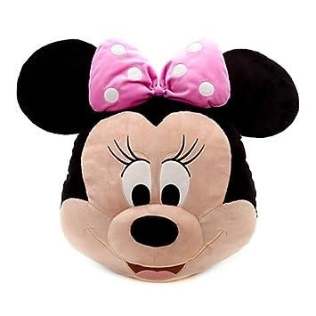Tienda Disney Minnie Mouse Big Face - Cojín (42 x 47 cm de ...