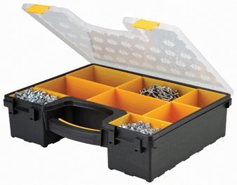 Storehouse 8 Bin Portable Parts Storage Case by Storehouse