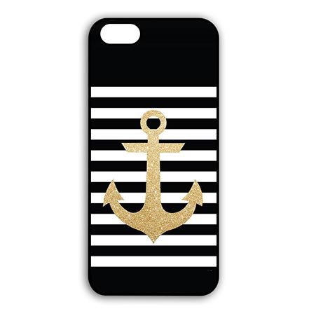 on sale 996b0 5c7e0 Cute Anchor With Stripes iPod Touch 6 Generation 6th Hard Back Case Cover  For Teen Girls