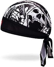 JPOJPO Cycling Cap Biker Quick Sports Bandana Sweat Headband Bandana for Motorcycling Men