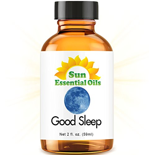 Good Sleep Blend - 2 fl oz Best Essential Oil (Compare to DoTerra Serenity, Young Living Peace & Calming) - 2 ounces (59ml) (Chamomile, Copaiba, Lavender, Sandalwood & More)