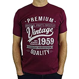 1960 Vintage Year – Aged to Perfection – 60th Birthday Gift/Present Mens T-Shirt