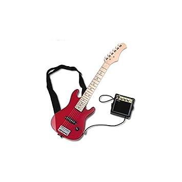DELSON Delson - Kit de guitarra eléctrica, color rojo: Amazon.es ...