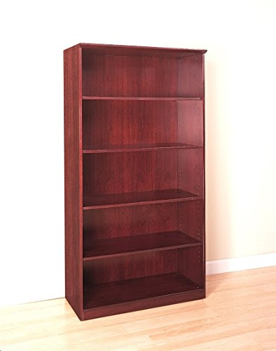 Mayline Wood Veneer Bookcase Dimensions: 36