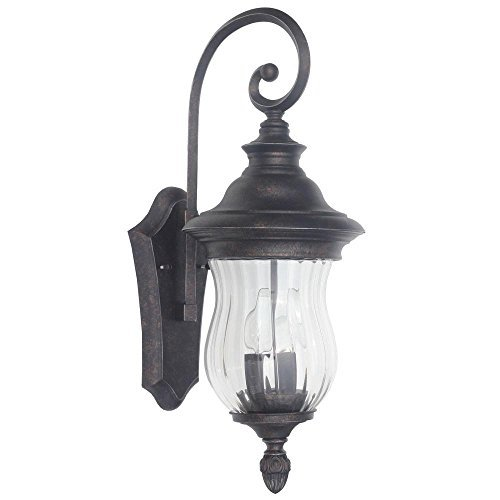 Home Decorators Collection Wesleigh 2-Light Bronze Outdoor Wall Mount 4.6 out of 5 (5) Write a Review