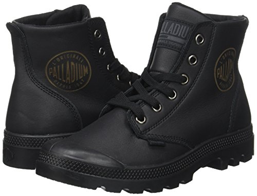 Unisex A adulto Nero Alto Leat Pampa Sneaker Palladium black Hi Collo U xf8ayBwq