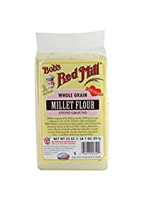 Bob's Red Mill Millet Flour, 23 Ounce (Pack of 4)
