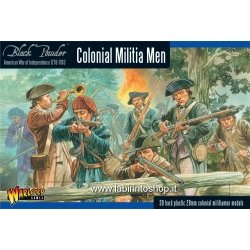 Black Powder - American War Of Independence - Colonial Militia Men (28mm) from Black Powder