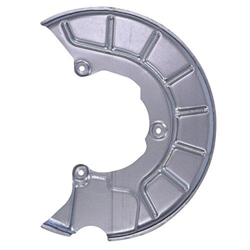2x Deckblech Bremsscheibe Bremsstaubblech Bremsankerblech hinten für AUDI A3 8P