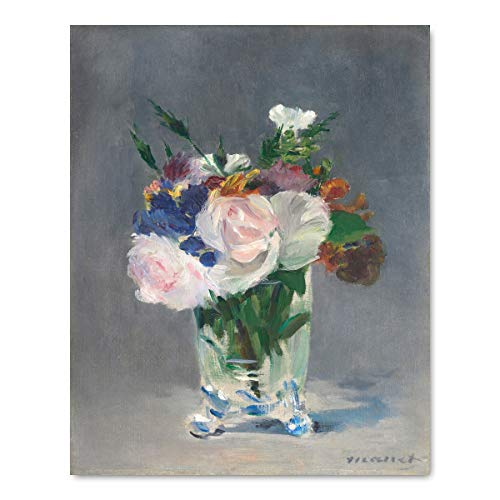 Manet Print (French Impressionist Art, Botanical Museum Wall Decor)