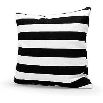 Amazon.com: Black and White Polka Dot Throw Pillows