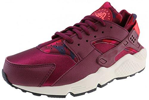 Air Shoes Sail Run Deep Nike Black Obsidian Bright Running Crimson Camo Huarache Womens Black Print Garnet zHxq57