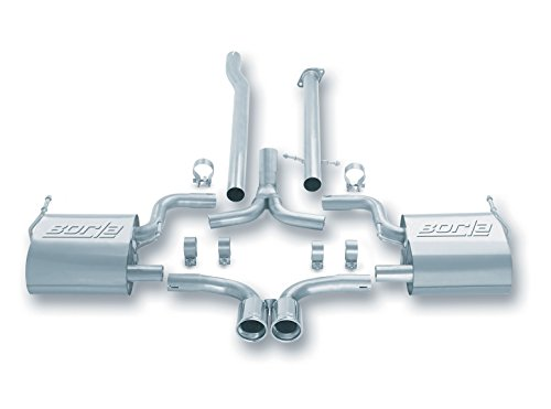 BORLA 140027 Cat-Back Exhaust (Cooper Exhaust System)