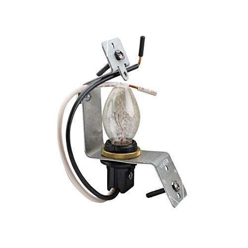 Leviton 2152 Lampholder Assembly, for Use with Jewels Or Louvre Plates, Use with Standard 2.5-Inch Box and 4 Watt Bulb