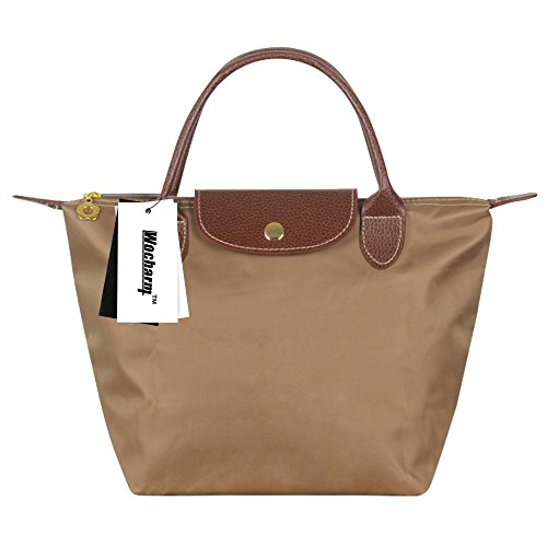 Gold Womens Folding Travel Messenger Purse Beach Casual Shopping Nylon Handbags Shoulder Wocharm Tote Bag Ladies Sw46gxTxq