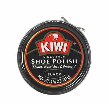 Kiwi 10111 Shoe Paste Polish, 1-1/8 Oz, Black