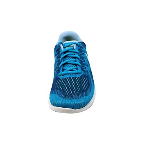 Blue NIKE Compétition de Gym Running Glacier RN Blue Femme 401 Free Chaussures WMNS 2017 FrqFv0
